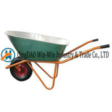 Wheelbarrow Wb7600hr Rueda de ruedas de la PU