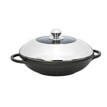 Pot de soupe de vente chaude de moulage mécanique sous pression avec le couvercle
