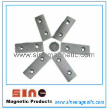 Customized Two Hole Countersunk Holes NdFeB Magnet