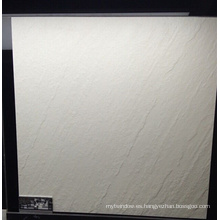 Azulejo de piso rústico mate blanco completo