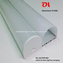 Aluminium-Profilbehang für LED-Streifen LED-Lichtleiste