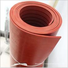 Esteira de borracha de isolamento térmico vermelho para colocação
