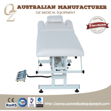 Hospital Examination Couch Electric Treatment Bed 2Section Mesas de tratamiento