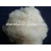 Mongole 100% pure fibre de cachemire gris clair élimé 16.5mic 32-34mm