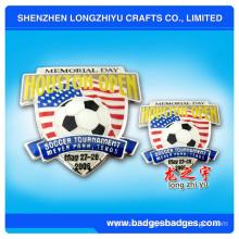 Metal Soccer Pin Badges (LZY-000063)