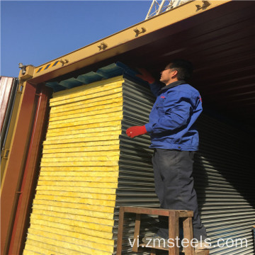 Painted Rockwool Sandwich Panel