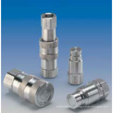 Stainless steel flat face quick coupling