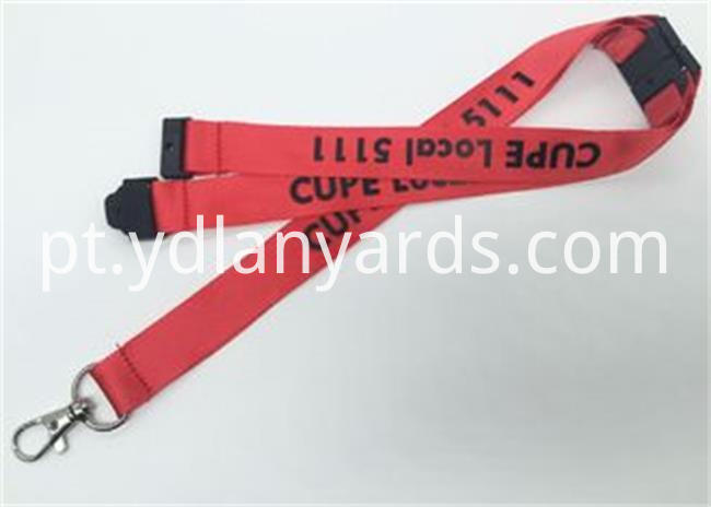 2 5cm Silk Screen Lanyards