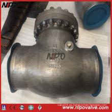 Bolt Bonnet Válvula de retención de acero