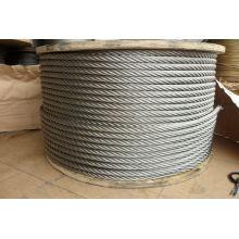 """6X7 5/32 """"Rop de alambre de acero galvanizado"""