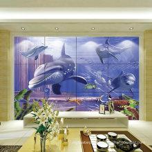 Foshan Factory 3D Ink-Jet Printing Beautiful Bathroom Tile Pictures