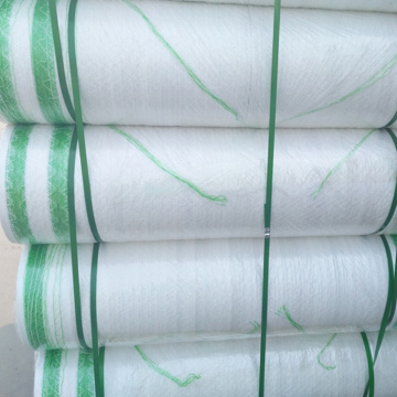 White Soft plastic woven packing Net