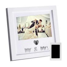 High quality wholesale custom 4*6 Can be fingerprinted wedding photo frame for souvenir