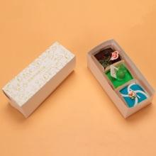Caja de pacakging para pastel de rollo suizo