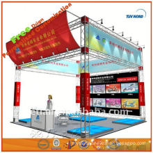 Lighting glass floor event exhibition booth made in Shanghai