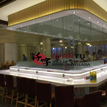 Buffet Restaurante LED Tipo de luz Sushi Belt
