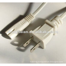 White AC Power Cable