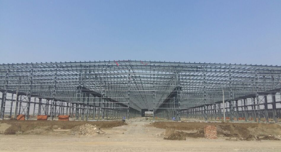 Steel structure industrial building