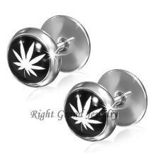 Round Edge Stainless Steel 12mm Non Piercing Plugs