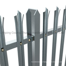 Amazon Ebay Wholesale W or D Pile Hot Dipped Galvanized Security Metal Palisade Fence (PF)