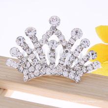 Princess Crystal Hair Crown Rhinestone Tiara Peignoir pour enfants