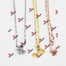 Оптовые ювелирные изделия ожерелья цепи змейки медного металла медные (CSC50829)