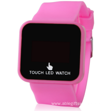 Multifunction Led Touch Wrist Watch