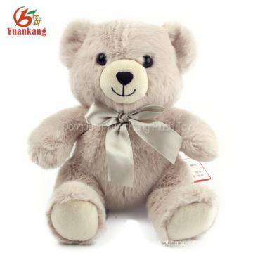 Brinquedo pequeno feito sob encomenda enchido amarelo bonito do luxuoso do urso de peluche da roupa do urso de peluche com camisas de T