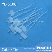 Self Locking Cable Tie for Marking (YL-S100)