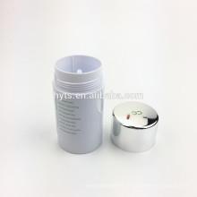 Zylinderform heißer Verkauf Kunststoff Deo Gel Container