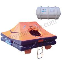 solas liferaft yacht liferaft Inflatable 6 person drop type life raft