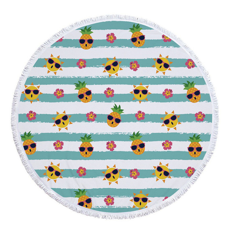 Big Round Beach Towel