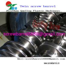 Double Screw Barrel For Pvc Pe Wood Plastic Extrusion Line