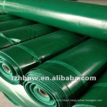 PVC coated rolls tarpaulin in stock customized