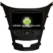 Glonass! Android 4.2 écran tactile voiture dvd GPS pour Ssangyong Korando + dual core + OEM + Glanoss
