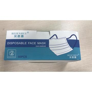 Masque facial jetable non médical