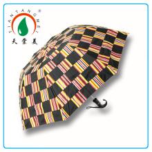 30 pouce droite Golf parapluie noir Made In Hangzhou