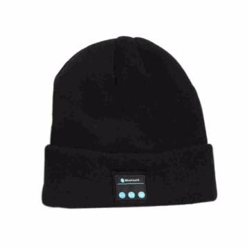 Casque bonnet tricoté sans fil pour écouter de la musique