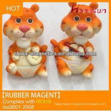 New neodymium rubber fridge magnet sheet souvenir tigers product