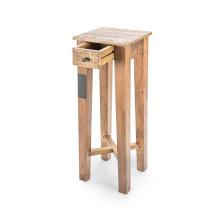 Mesa de lámpara de cajón