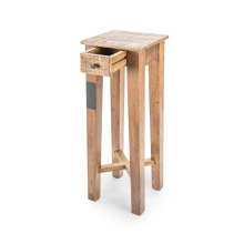 Table de lampe à tiroir