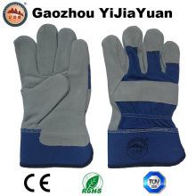 Kuh Split Leder Anti-Kratzschutz Sicherheits-Handschuhe mit En 388