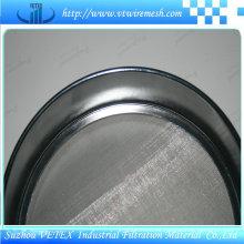 Tamiz de prueba estándar de acero inoxidable con informe SGS