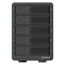 ORICO Alumínio 5 baías USB3.0 para o gabinete SATA HDD com função RAID (9558RU3)