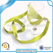 Promotion Lanyard with Fashion Logo for Wine Cup Holder