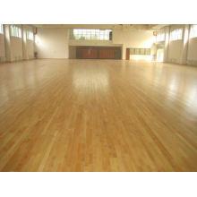 Anti-Slip Prefinish Oak Hardwood Flooring for Basketball