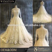 custom popular newest hot sell high quality new style wedding gress sale