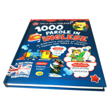Custom Professional Printing Coloring Children English Educational Book