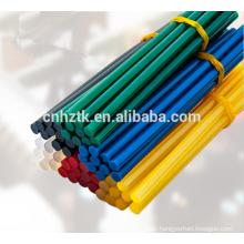 Colorful hot melt glue stick/ hot melt glue sticks for glue gun