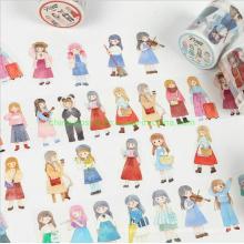 Lovely Girl Designs Masking Tape of Book DIY Material